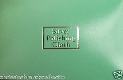 925 Sterling Silver Jewellery Anti-Tarnish Cleaning POLISH CLOTH  10cm*7cm