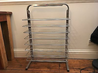 Bourgeat Plate Stacker Charger Jack stack Used 8 Shelf Wall Mountable