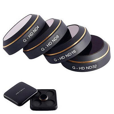 PGY G-UV ND4 ND8 ND16 ND32 CPL HD Gimbal Lens Filters for DJI Mavic PRO Drone RC