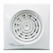 """Envirovent SILENT-100HT """"Silent"""" Extractor Fan with Humidistat / Timer SIL100HT"""