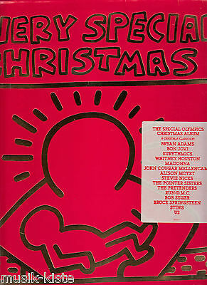 "V.A. - A Very Special Christmas *Bruce Springsteen,U2,Run DMC,Madonna ★ 12"" LP"