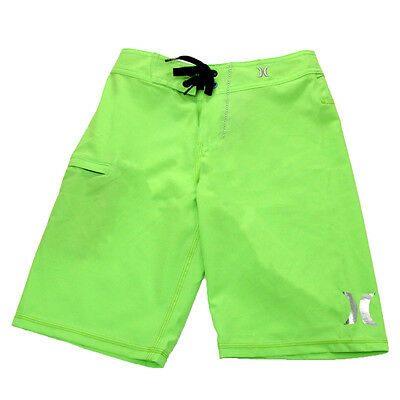 Hurley Youth P30 One And Only Boardshorts Neon Green/Hurley 26