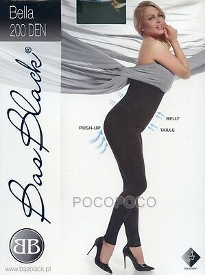 Leggings Post Gravidanza 200 Den Bas Blach Art. Bella