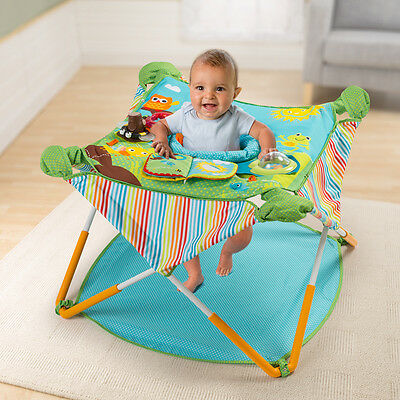 Pop and Jump Babysitz Stützsitz Spielstation Summer Infant Neues Modell 6-12 Mo