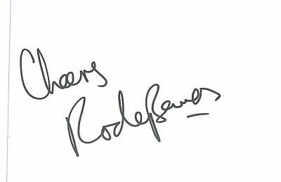 Signed Rodney Bewes Heartbeat Spender Dr Who Comedy Actor The Likely Lads