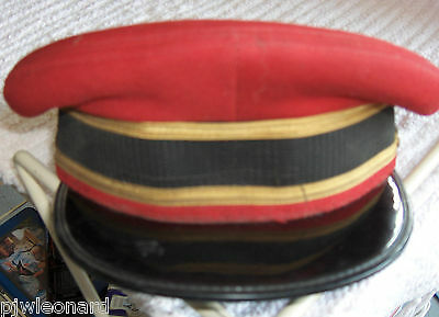 Train Conductor Hat, Size 7-3/8, Canadian Made