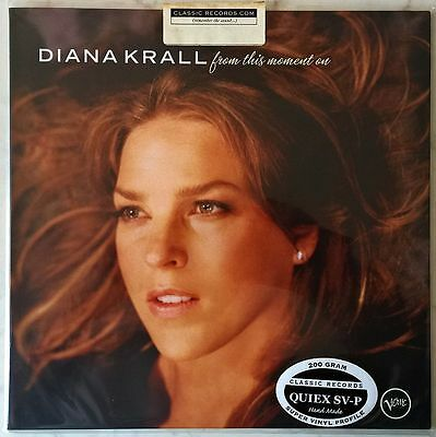 DIANA KRALL FROM THIS MOMENT ON LP 200g CLASSIC RECORDS