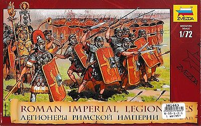 Russian toy soldiers. Zvezda. 8043 Roman imperial legionaries. 1/72 scale.