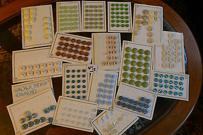 Lot n° 12 : + 300  boutons anciens mercerie Couture Scrapbooking  couleur FRANCE