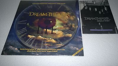 "Dream Theater - LIE ""12"" single Limited Ed . featuring a poster"