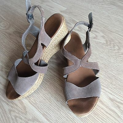 Zapatos mujer color bison - sandalias talla 40 -  women shoes sandals