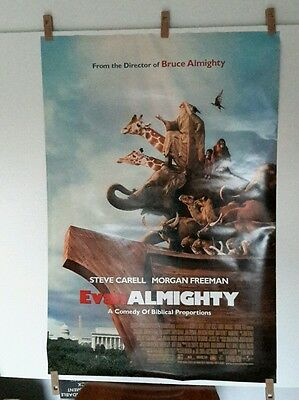 Evan Almighty Orig Ds Movie Poster Noahs Ark Final 40x27 Freeman