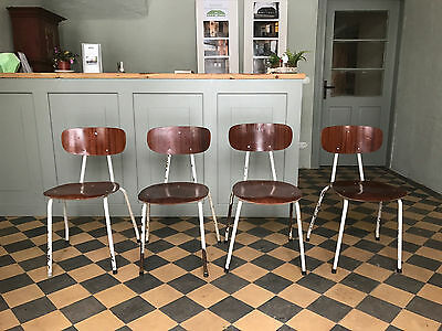 stuhl chair set nordic mid century industrial design 60s