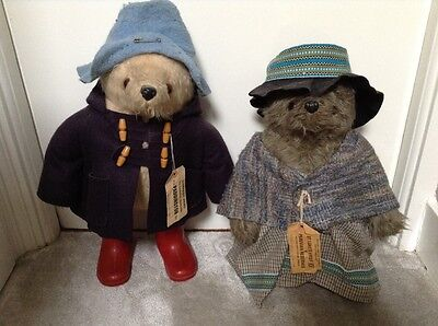 Paddington Bear and Aunt Lucy Collectors toys. SAVE £25 WHEN BOUGHT TOGETHER!