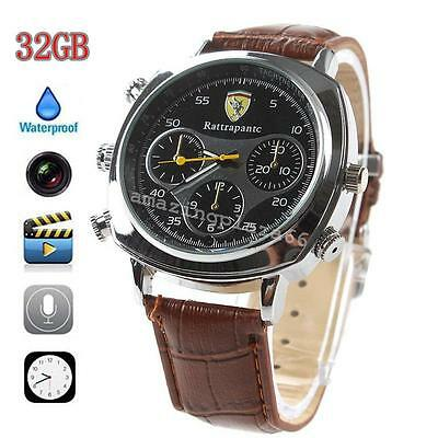 HD Hidden Watch Spy Camera Mini Digital Video Recorder DV DVR 8GB Memory HOT USA