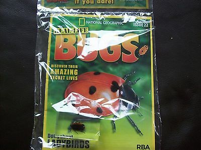 National Geographic Real-life Bugs & Insects magazine Issue 22