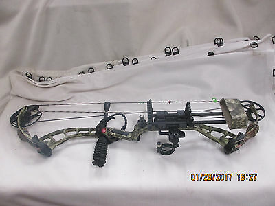 DRURY OUTDOORS PSE Bow Madness  60 to 70 LB RH PKG NEW String Pendilum Sight