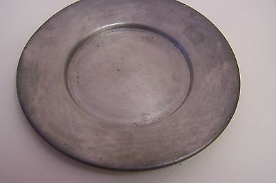 """Vintage INSICO Pewter #598 Small Plate - 5"""" in Diameter"""