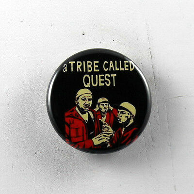 1.5 PINS A TRIBE CALLED QUEST gig poster badge lp qtip phife dawg BUTTONS