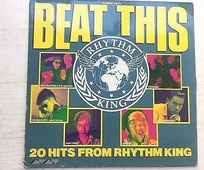 Beat This  The Hits Of Rhythm King LP Album Stylus Music