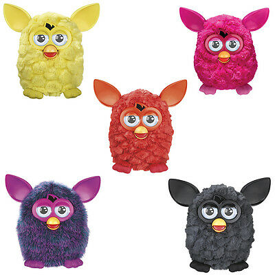 Hasbro Furby Interactive Toys French Party Rockers Boom Yellow Orange Red Black