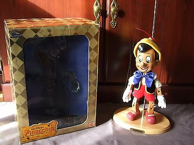 Walt Disney's Pinocchio Real Wooden Marionette by Mattel Limited Edition