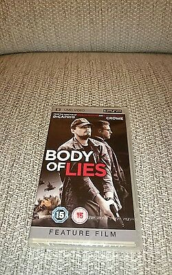 Body Of Lies -*- Psp -*- Umd -*- New And Sealed -*-