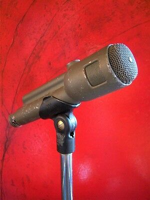 Vintage 1970's Electro Voice 666 dynamic cardioid microphone Multi Z mic clip