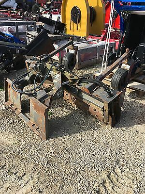 Edge Skid steer Attachment Power Rake