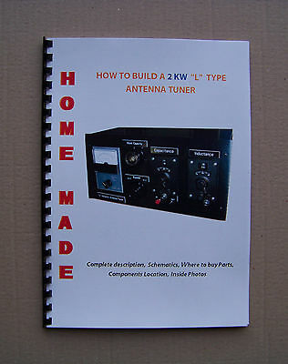 """MTU - Home Made 2 KW Antenna Tuner """"L"""" Type with DVD"""