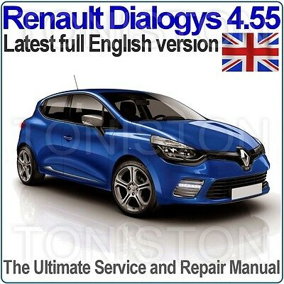 Renault Dialogys v4.55 2016 Workshop Manual and EPC (English Only) All Models
