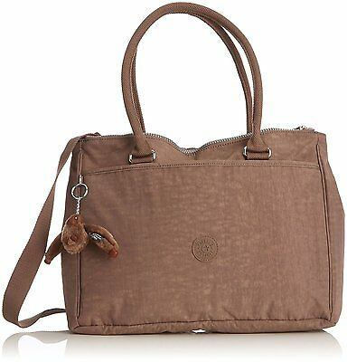 Kipling - Halia - Sac bandoulière mode - Femme - Marron (Monkey Brown) -...