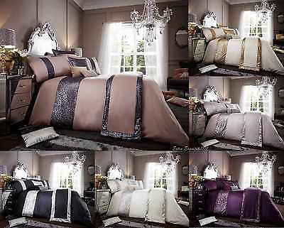 Glamorous Bedding Set Duvet Cover with Pillowcase Quilt Cover Available all Size