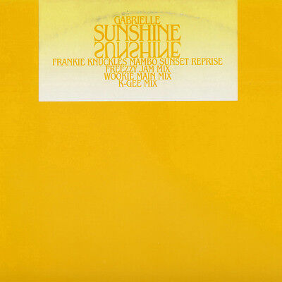 "Gabrielle ‎– Sunshine 12"" (UK Garage/Grime 12"" Vinyl)"