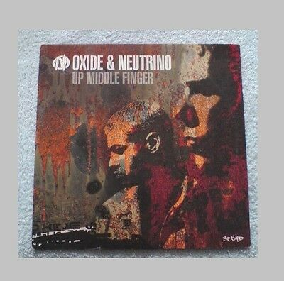 "OXIDE NEUTRINO - UP MIDDLE FINGER 12"" (UK Garage)"