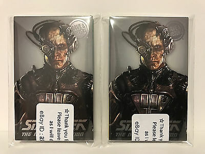 TWO (2) SETS! Dave and Busters - The Next Generation Star Trek Set w/ Borg D&B