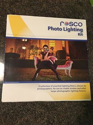 "Rosco Photo Lighting Filter Kit, 12 x 12"" Sheets #110110120001"