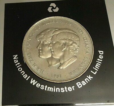 Charles and Diana Royal Wedding commemorative crown coin