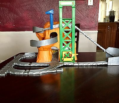 Thomas and Friends Sodor Rock Quarry Train Track Take N Play Playset Die Cast
