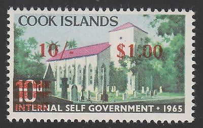 Cook Islands Sc. 191 London Missionary Society 1967 MNH