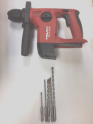 NEW HILTI TE 4-A18 18v 21.6v CORDLESS ROTARY HAMMER DRILL SDS Tool Only & Bits*
