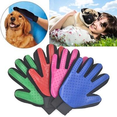 Pet Dog Cat Grooming Glove Hair Remover Brush Glove for Gentle and Efficient Pet