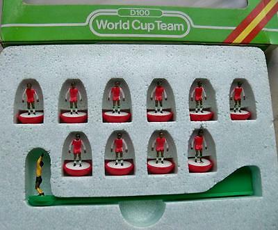 Subbuteo Team Algeria Lw Ref N.402 World Cup Players & Ref Box In Mint Condition