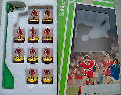 Subbuteo Team As Roma Lw Ref N.476 Players Very Good Conditions Ref Box  In Good