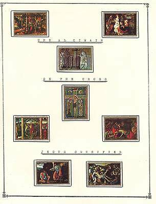 UMM AL QIWAIN Amazing Collection V.F. Used Stamps Hinged on list Jesus Crucified