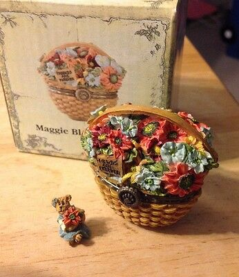 Longaberger Boyd's Bear Exclusive Treasure Box - Maggie Blossombeary