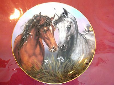 Love Conquers All  Horse Plate By Susie Morton  With Coa