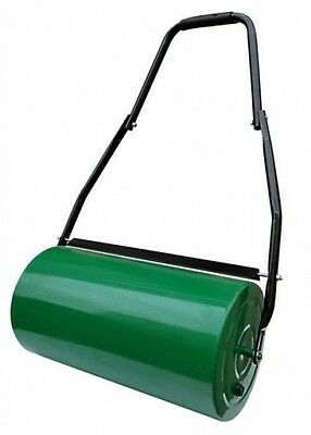 48L Green Garden Lawn Roller Fillable with Water or Sand