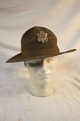 WW1 U.S. Army Officer Issue Felt Campaign Hat