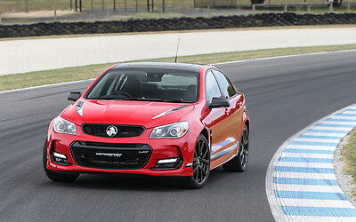 """2017 HOLDEN COMMODORE MOTORSPORT EDN A1 CANVAS PRINT POSTER FRAMED 33.1""""x20.7"""""""